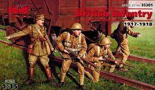 ICM 35301 - British Infantry 1917 1918 -  britische Soldaten - 1:35