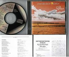 IAN GILLAN ‎What I Did On My Vacation JAPAN CD INSERTS 32VD-1040 BLACK TRIANGLE