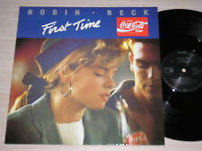 "ROBIN BECK - FIRST TIME - MAXI-SINGLE 12"" GERMANY"