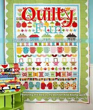 QUILTY FUN by Lori Holt of Bee In My Bonnet Quilt Pattern Book Row By Row Along