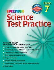 Science Test Practice, Grade 7 (Spectrum)