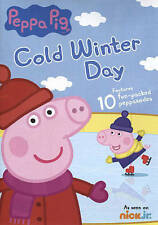 Peppa Pig: Cold Winter Day (dvd) EXCELLENT CONDITION SHIPS NEXT DAY