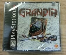 Grandia Sony PlayStation 1 PS1 Brand New Factory Sealed w/ Seal 1 Small Tear
