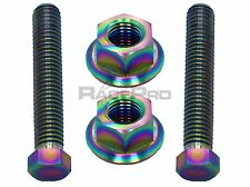 RacePro - Rainbow Titanium Axle Chain Adjuster Bolts - Yamaha Yzf R125 08-09
