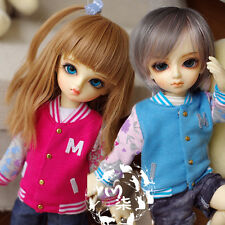 Cool Casual Baseball Shirt 2 Color Options for BJD YOSD 1/6 Size Doll Clothes