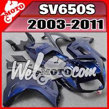 Welmoto Plastic Fairing For SV650 SV650S 2003-2012 ABS Bodywork 03-12 Blue #W35