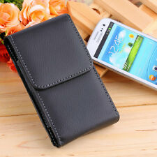PU Leather Holster Pouch Cellphone Case Cover Belt Clip For Samsung S3/S4 UL