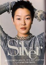 1993 Jenny Shimizu Editorial Fashion Magazine Layout Vintage Retro VTG 90s