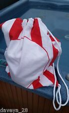 100% Brushed PERUVIAN Cotton Flannel 6' x 6' BEACH BLANKET - Folds into a Tote