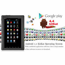 "7 ""pulgadas Android 4.4 Quad Core 8 Gb Bluetooth Capacitiva Tablet Doble Cámara del Reino Unido"