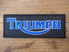 ECUSSON PATCH THERMOCOLLANT aufnaher toppa TRIUMPH bonneville trident rocket 3