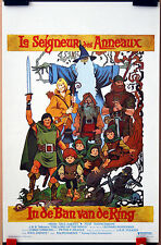 Tolkien : Ralph Bakshi : The Lord Of The Rings : POSTER