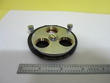MICROSCOPE PART NOSEPIECE TURRET UNITRON L3R-1782 AS IS  BIN#19V-B-01
