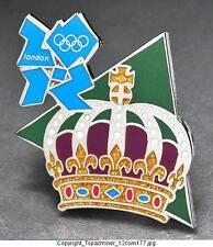 OLYMPIC PINS BADGE 2012 LONDON ENGLAND UK  THE CROWN JEWELS - ROYALTY