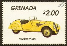 1938 BMW 328 Car Automobile Mint Stamp