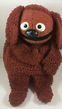 "Vintage 1977 Fisher Price ROWLF Muppet Doll Jim Henson 16"" Hand Puppet 852"