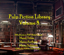 CD - Pulp Fiction Library Vol. 8 - 350 eBooks (Re-Sell Rights)