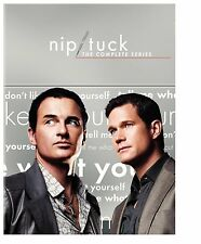 Nip/Tuck Complete Series Season 1-6 DVD SET Collection Lot TV Show Episodes Box