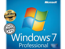 WINDOWS 7 - WIN 7 PRO / PROFESSIONAL 32/64 KEY CLAVE 100% ORIGINAL MULTILANGUAGE