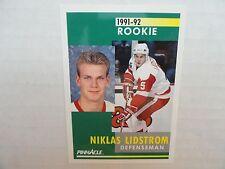 Nick Lidstrom  1991/92 Score Pinnacle Rookie Card Detroit Red Wings