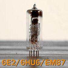 Pair 6E2/6HU6/EM87 NOS Tuning Eye Vacuum Tube Indicator LOW Level Input 2pcs U
