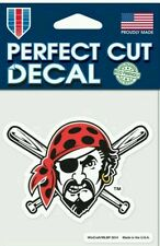 Pittsburgh Pirates Jolly Roger 4x4 Perfect Cut Car Window Decal See Description