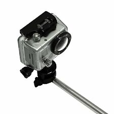 Extendable Handheld Monopod And Tripod Adapter for GoPro Hero Camera 4 3+ 3 2