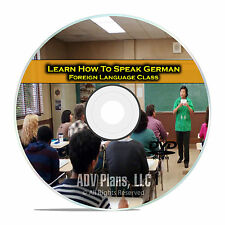 Learn How To Speak German, Fluent Foreign Language Training Class, DVD D95