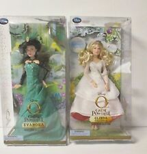 DISNEY OZ THE GREAT AND POWERFUL EVANORA & GLINDA DOLLS NEW IN BOX