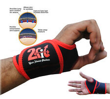 2Fit 1 PAIR NEOPRENE WRIST THUMB BRACE SUPPORT GYM WEIGHT LIFTING WRAP STRAP