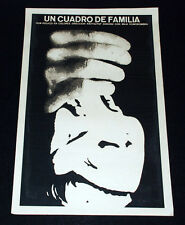 "1976 Original Movie Poster""Family Picture""Polish Poland Krzysztof Zanussi art"