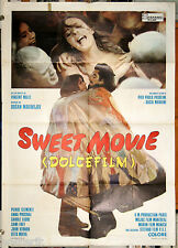 manifesto 2F film SWEET MOVIE Dusan Makavejev Carole Laure Pierre Clementi 1974