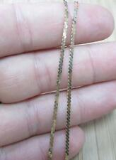 """14KT Solid Yellow Gold Chain Necklace ~ 20"""" ~ 3.5grams ~ 6-H6227"""