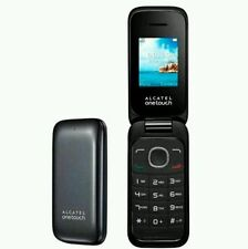 BEAND NEW Alcatel One Touc 1035x 10.35 Black - Unlocked 2G Flip Phone - Sim Free