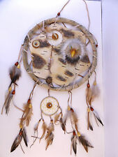 "Southwest Tribal Mandela Dream Catcher Protective Shield Eagle 13"" Wall Hanging"