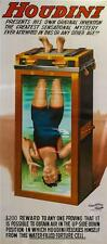 Houdini Chinese Water Torture Cell 2 Sheet Advertising Poster Lithograph S2 Art