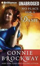 No Place for a Dame by Connie Brockway (2014, MP3 CD, Unabridged)
