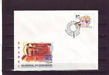 MACAO/MACAU - SG879 WORLD CONSUMER DAY 15/3/95 FIRST DAY COVER - FDC