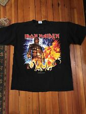 Iron Maiden VTG T Shirt XL Brave New World Tour Size XL