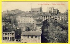 cpa 42 - SAINT ETIENNE (Loire) Colline Sainte Barbe Immeubles CROIX de Mission