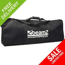 Beamz 4-Some Lights 4 Play Black Mobile DJ Transport Case Shoulder Strap Bag
