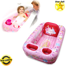 Disney Baby Inflatable Bathtub Kid Toddler Bath Tub Portable Pool Water Play