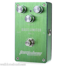 Aroma ABL1 Metal Electric Bass Effect Pedal Limiter True Bypass Design Accessory