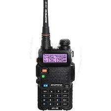Baofeng Black UV-5R Dual-Band 136-174/400-520 MHz FM Ham Two-way Radio in spain