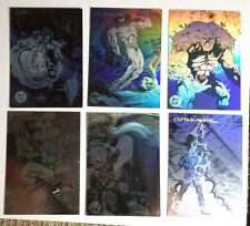1993 DC Cosmic Team sHall of Fame Hologram Trading Card Set of 6-FREE S&H(DC-01)