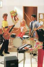 """ Band Practice "" Fashion Collectible Photo Card Mattel Barbie Doll Postcard"