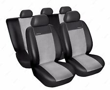 Leatherette full set of CAR SEAT COVERS universal fit Skoda Rapid   (A)