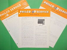 1946 1947 1948 PACKARD CLIPPER VICTORIA CONVERTIBLE PHILCO RADIO SERVICE MANUAL