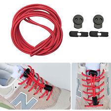 5x Elastische Sport Schnürsenkel Schuhbänder für Marathon&Triathlon Athleten Rot