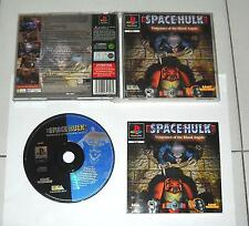 PS1 Playstation 1 SPACE HULK Vengeance of the Blood Angel - PsOne PAL